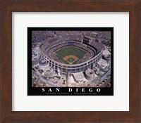 Framed Qualcom Stadium-San Diego