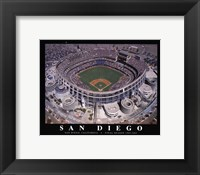 Framed Qualcom Stadium-San Diego