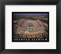 Framed Spartan Stadium - Michigan State
