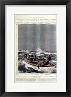 Framed Titanic: Lifeboats