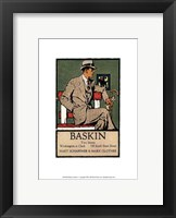 Framed Baskins Fashions I