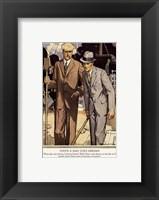 Framed Baskins Fashions VII