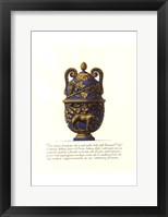 Framed Blue Urn II