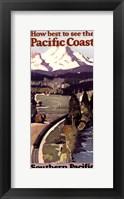 Framed Pacific Coast II