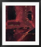 Framed Red Mirage I