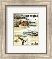 Framed Web Foot Hunting