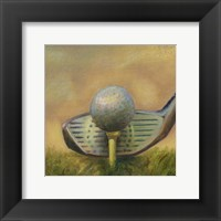The Tee (P) Framed Print
