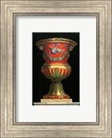 Framed Vase with Instruments