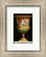 Framed Vase with Cherubs