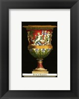 Framed Vase with Cherubs