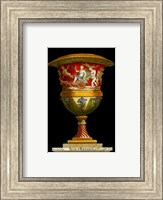 Framed Vase with Chariot