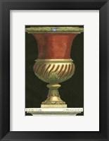 Framed Vase with Red Center