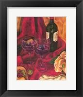 Framed Wine Indulgences II
