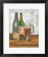 Beer Series I Framed Print