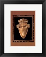 Framed African Mask I