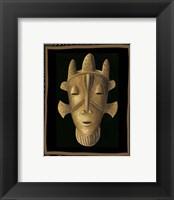 Framed African Mask II