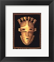 Framed African Mask III