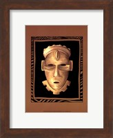 Framed African Mask IV