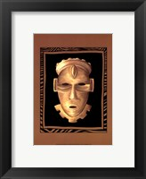 Framed African Mask IV