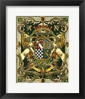 Framed Crest on Black II