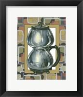 Framed June's Coffee Pot
