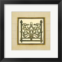 Framed Gate in Gesso I (H)