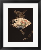 Framed Oriental Fan I