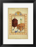 Framed Moroccan Treasures I