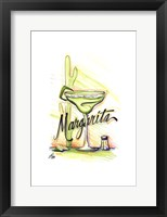 Framed Drink up...Margarita