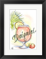 Framed Drink up...Daiquiri