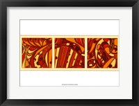 Framed Orange Fission I