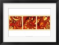 Framed Orange Fission II