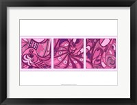 Framed Pink Fission II