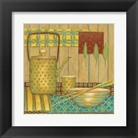 Framed Willow Tea Pot