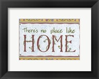 Framed No Place Like Home
