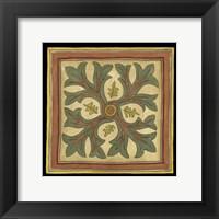Arts and Crafts Leaves I (HI) Framed Print