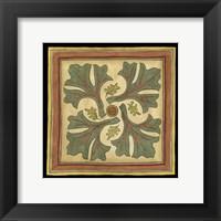 Arts and Crafts Leaves II (HI) Framed Print
