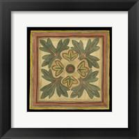 Arts and Crafts Leaves IV (HI) Framed Print