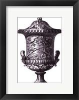 Black & White Urn II (SC) Framed Print