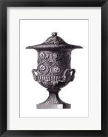 Black & White Urn IV (SC) Framed Print