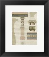 Framed Palais de Fontainbleu I