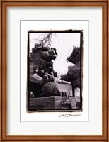 Framed Imperial Lion, Beijing