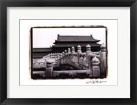 Framed Palace Bridge, Beijing