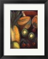 Framed Luscious Tropical Fruit I