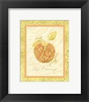 Framed La Pomme