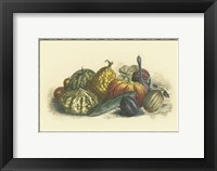 Framed Melons and Gourds