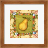Framed French Country Pear