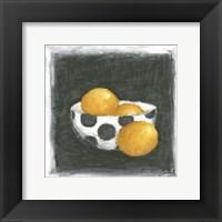 Framed Oranges in Bowl