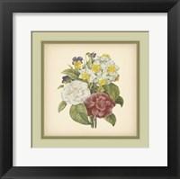 Framed Tuscany Bouquet (P) I