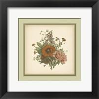 Framed Tuscany Bouquet (P) V